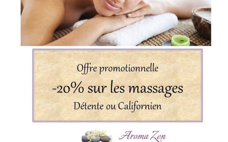 Offre promotionnelle massages