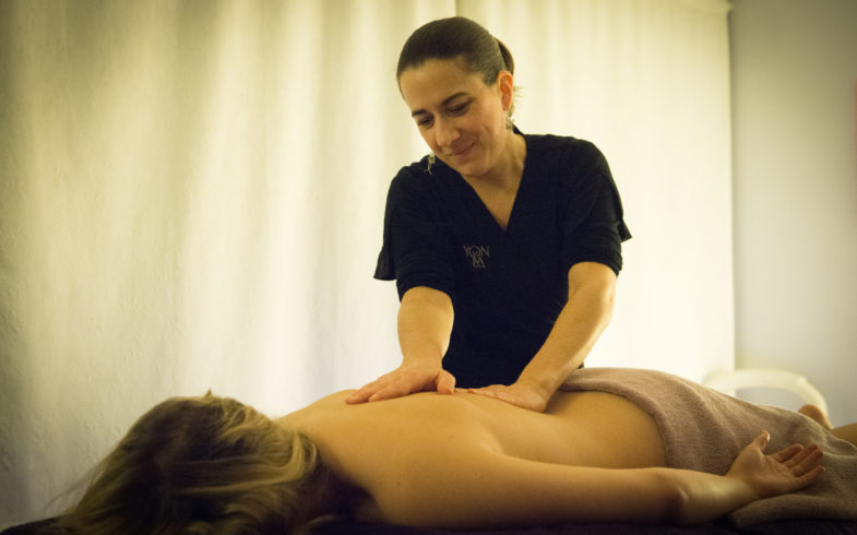 Massage « Détente du dos »