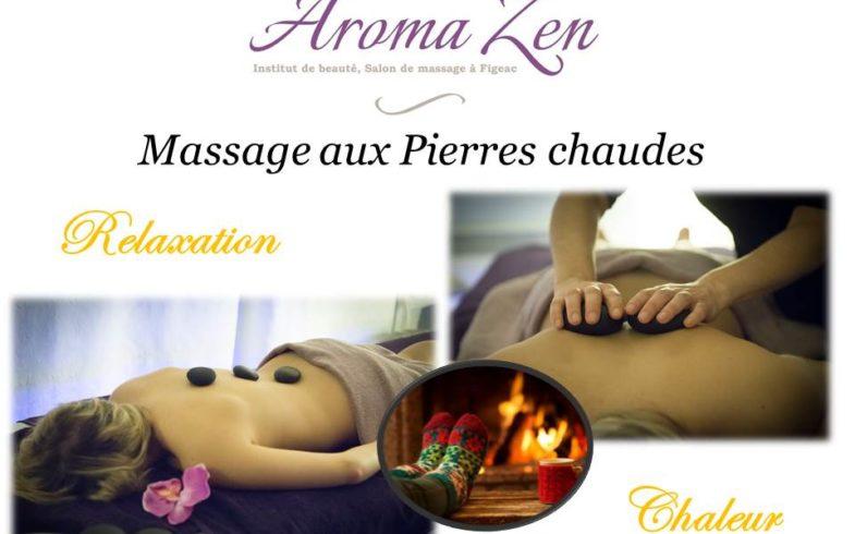 Massage hivernal aux Pierres Chaudes