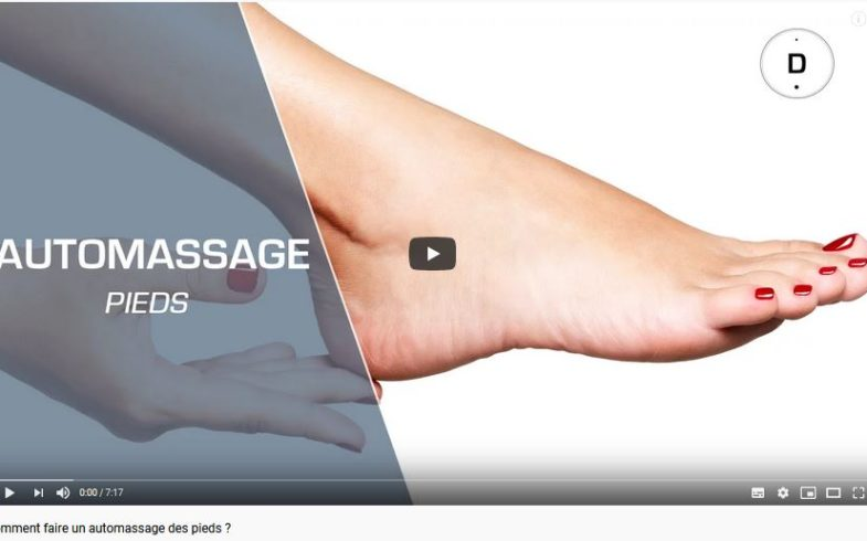 Auto massage des pieds