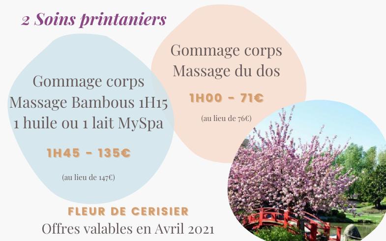 Les offres printanières d'avril